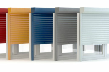 Persianas de aluminio en varios colores